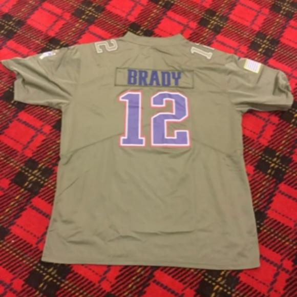 new style d1fa1 c499c NWT Tom Brady Adult XL Camo Jersey